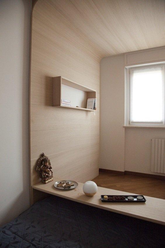 Habitaci n para meditaci n por bianco studio decoraci n for Articulos para decorar habitaciones