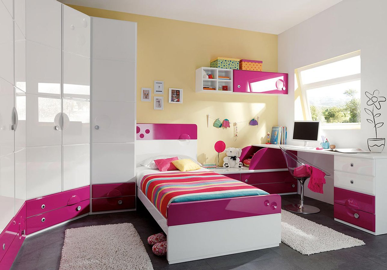Habitaciones juveniles de la firma juraco decoraci n del for Decoracion casas chicas