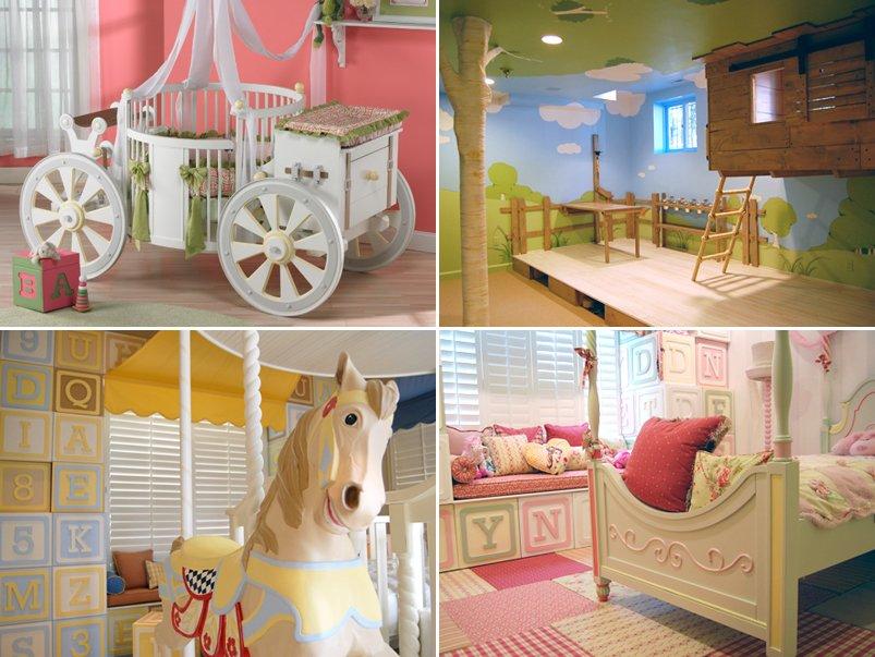 Habitaciones infantiles llenas de fantas a decoraci n del - Habitaciones infantiles decoracion ...