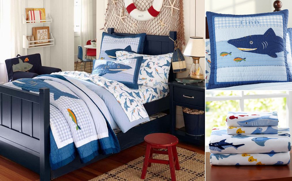Habitaciones infantiles de estilo marinero decoraci n del for Decoracion habitacion bebe marinero