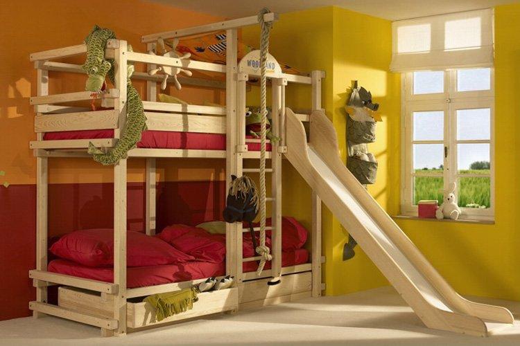Literas divertidas para habitaciones de nios Decoracin del hogar