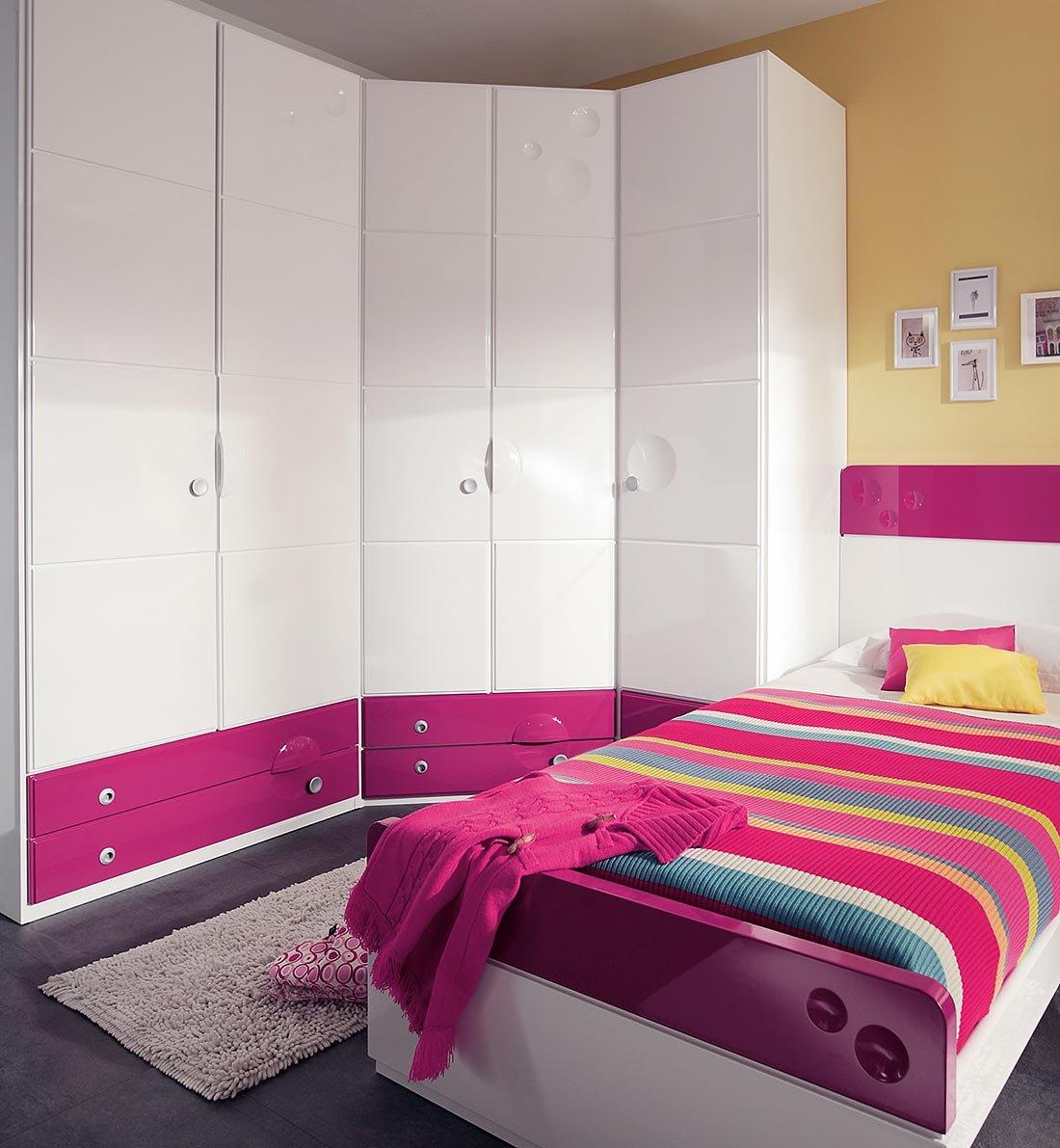 Composiciones de habitaciones juveniles juraco for Decoracion de interiores habitaciones