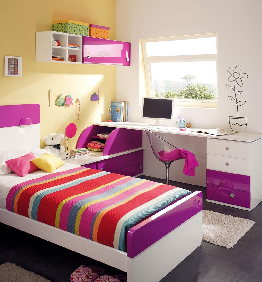 Habitaciones juveniles de la firma juraco decoraci n del for Decoracion del hogar muebles