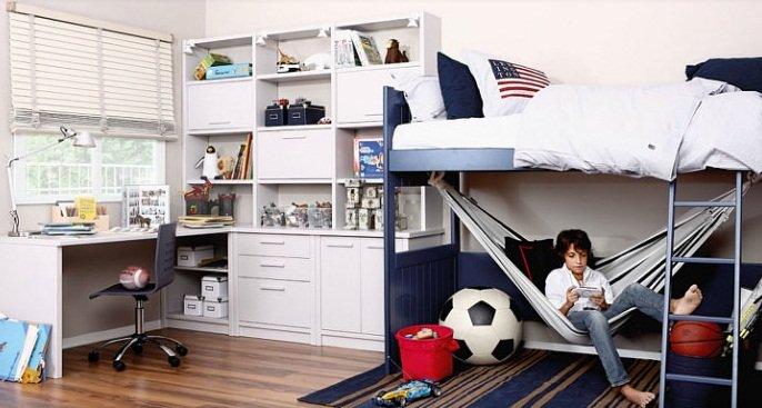 Habitaciones para ni os y adolescentes de la firma asoral for Dormitorio nino 9 anos