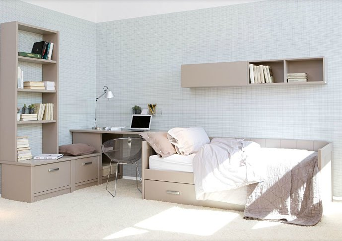 Muebles para habitaciones infantiles habitaciones para for Muebles asoral