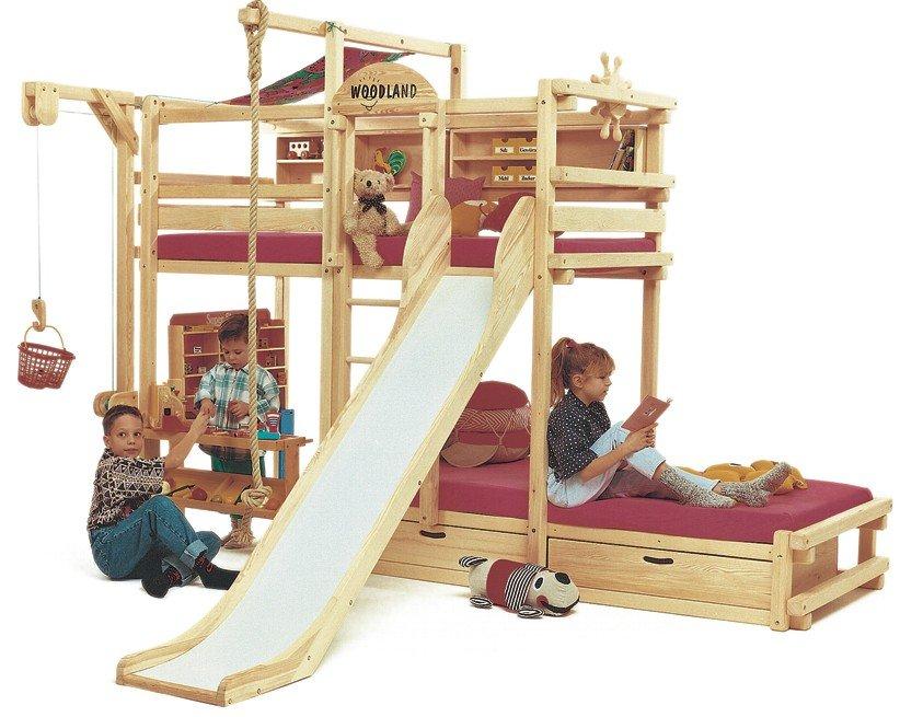 Literas divertidas para habitaciones de ni os decoraci n - Tobogan infantil ikea ...