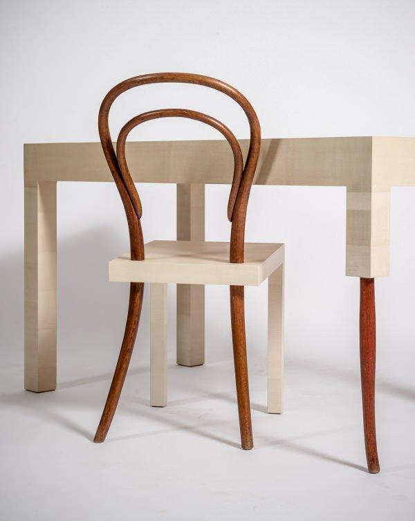 homenaje a la silla n mero 14 de michael thonet decoraci n del hogar. Black Bedroom Furniture Sets. Home Design Ideas