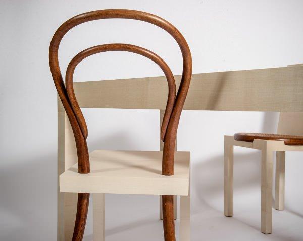 mobilier et thonet homenaje a la silla n mero 14 de. Black Bedroom Furniture Sets. Home Design Ideas