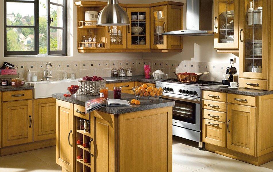 Ideas b sicas para una cocina r stica decoraci n del hogar for Cocinas integrales clasicas