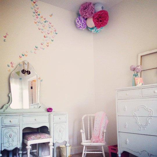 Ideas para la decoraci n de la habitaci n de una ni a - Decoracion habitacion ninas ...