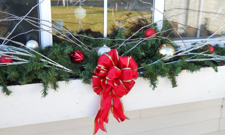 ideas para la decoracin de las ventanas en navidad