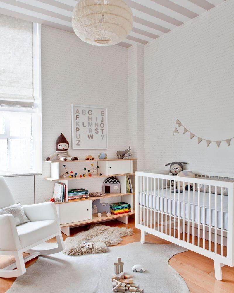 Ideas Para Una Habitaci N De Beb Elegante Y Dulce Decoraci N Del  ~ Como Decorar La Habitacion Del Bebe