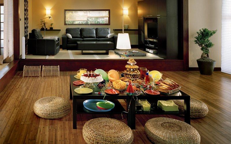 Decoración e Ideas para mi hogar: Salas decoradas al estilo japonés