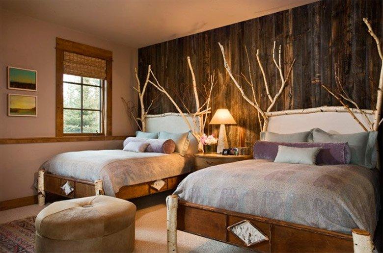 Ideas para crear una decoraci n r stica decoraci n del hogar - Decoracion habitacion rustica ...