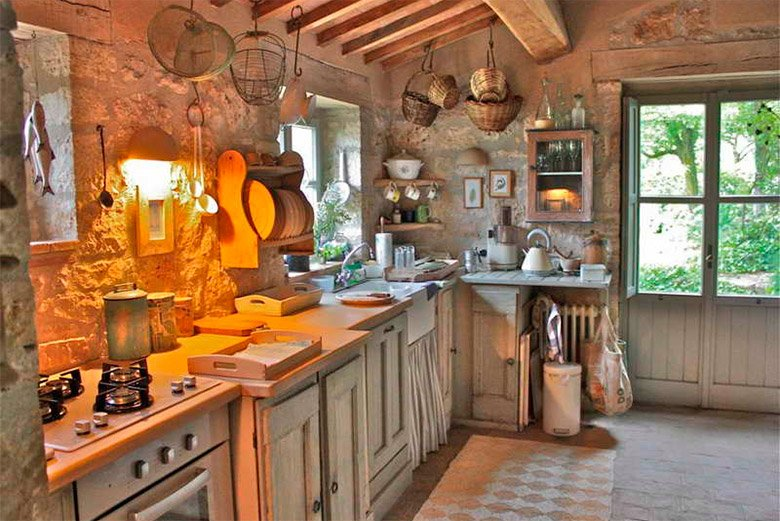 Ideas para crear una decoraci n r stica decoraci n del hogar Rustic tuscan house plans