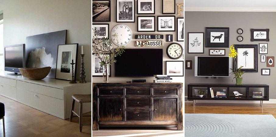 ideas para hacer mueble para tv