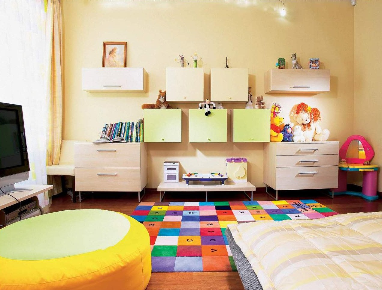 Ideas para habitaciones retro para ni os decoraci n del for Decoracion hogares infantiles