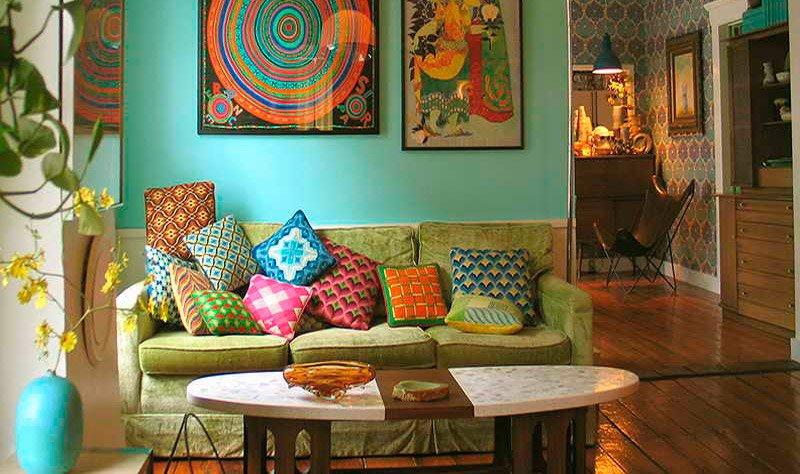 Ideas para salones de estilo vintage decoraci n del hogar - Decoracion estilo vintage ...