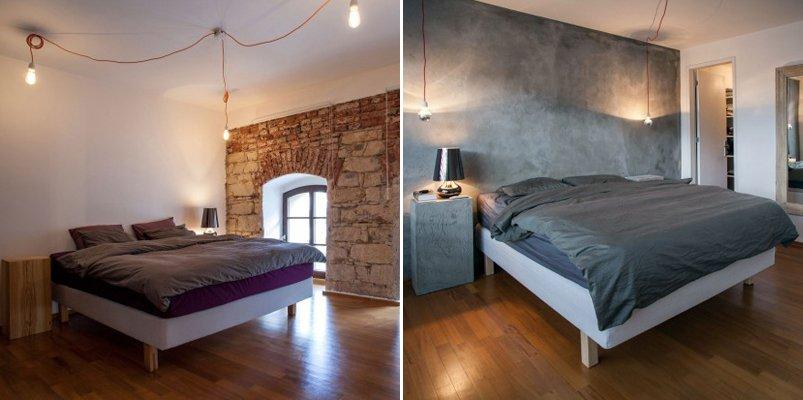 Loft de dise o moderno del estudio b2architecture decoraci n del hogar - Lamparas dormitorios modernos ...