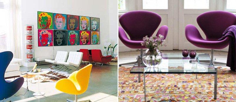 Tendencias en decoraci n estilo pop art decoraci n del hogar for Muebles pop art