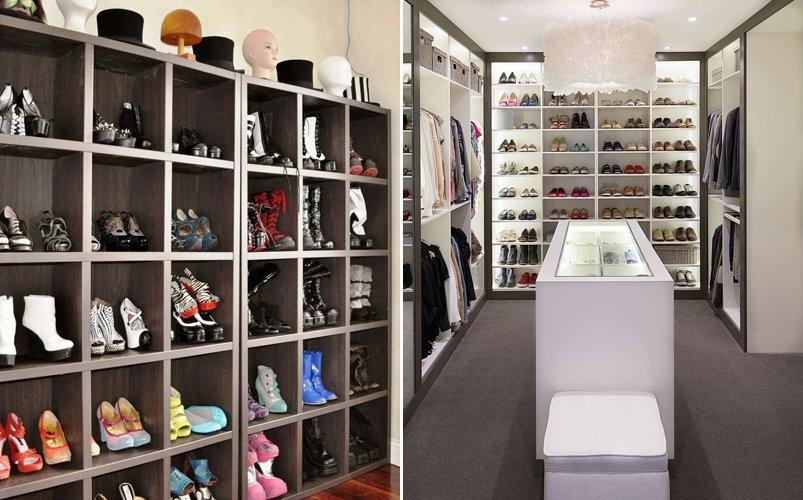 Ideas para dise ar un vestidor en tu hogar decoraci n del for Zapatero para habitacion