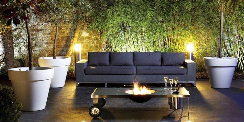 Iluminaci n del jard n decoraci n del hogar for Iluminacion led en terrazas