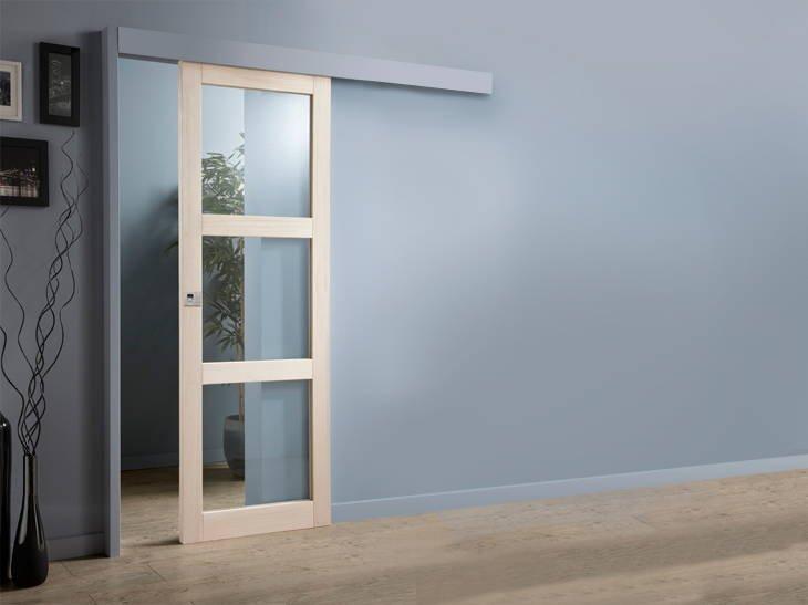 Ahorra espacio instalando puertas correderas decoraci n for Puertas correderas