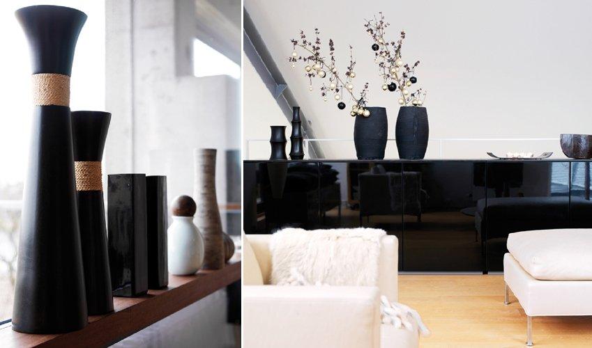 Apartamento loft minimalista en blanco y negro decoraci n for Como decorar una casa minimalista