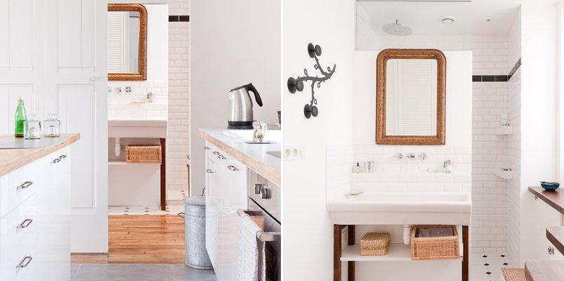 Decoracion De Baño Minimalista:Loft parisino minimalista de 60 m2 Decoración del hogar