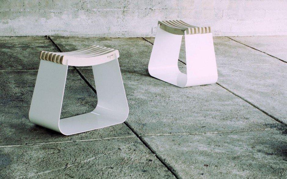 banqueta minimalista henri de alexandre reignier  decoraci u00f3n del hogar