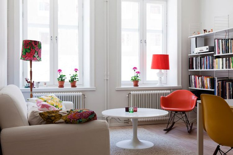 Decoraci n de un apartamento basado en el blanco for Decoracion de apartamentos