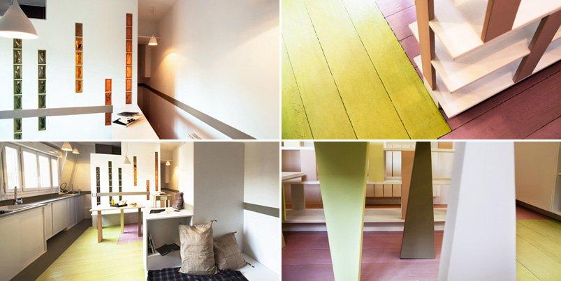 Decoraci n de un peque o apartamento en colores pastel for Decoracion del hogar pequeno