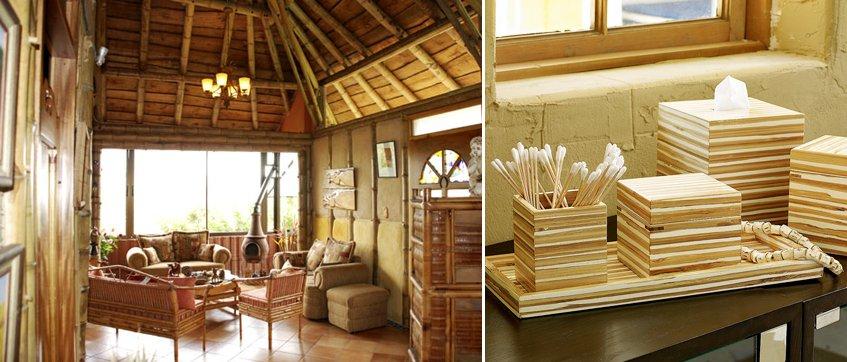 Ideas para decorar con bamb decoraci n del hogar for Bambu decoracion interior