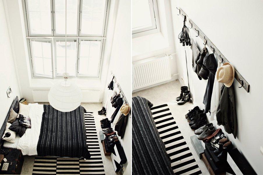 decoración en blanco y negro | masluzmx