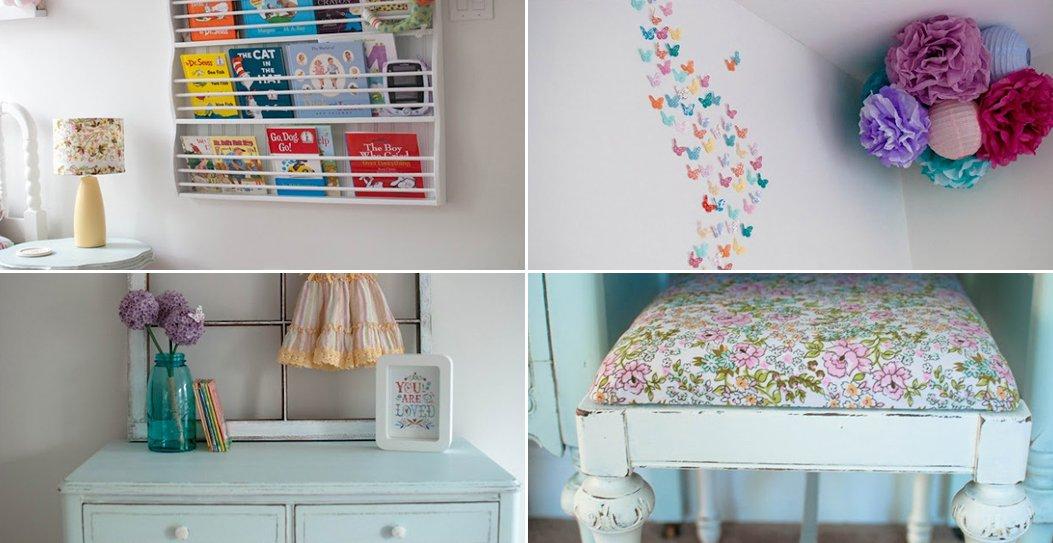 Ideas para la decoraci n de la habitaci n de una ni a for Accesorio de decoracion de la habitacion