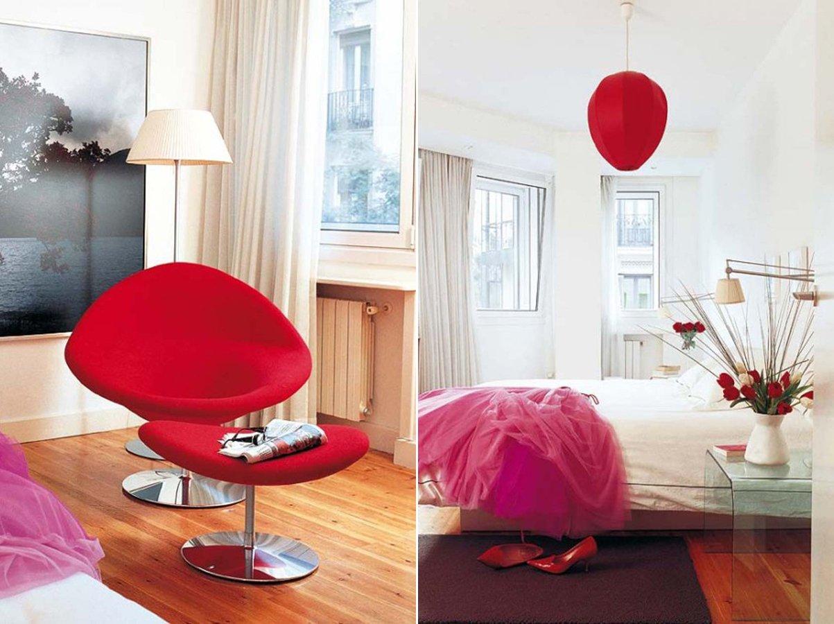 El color rojo en la decoraci n decoraci n del hogar - Decoracion para foto ...