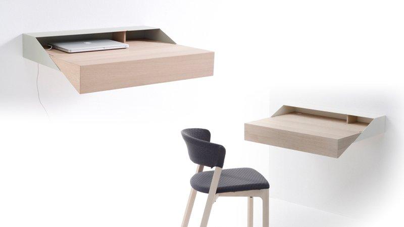 Escritorio deskbox mini soluci n a los problemas de - Estanterias para escritorios ...