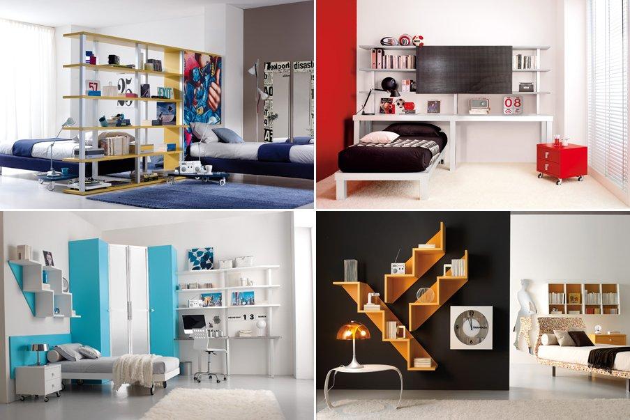 Cat logo 2012 de habitaciones juveniles tumidei for Habitaciones juveniles funcionales