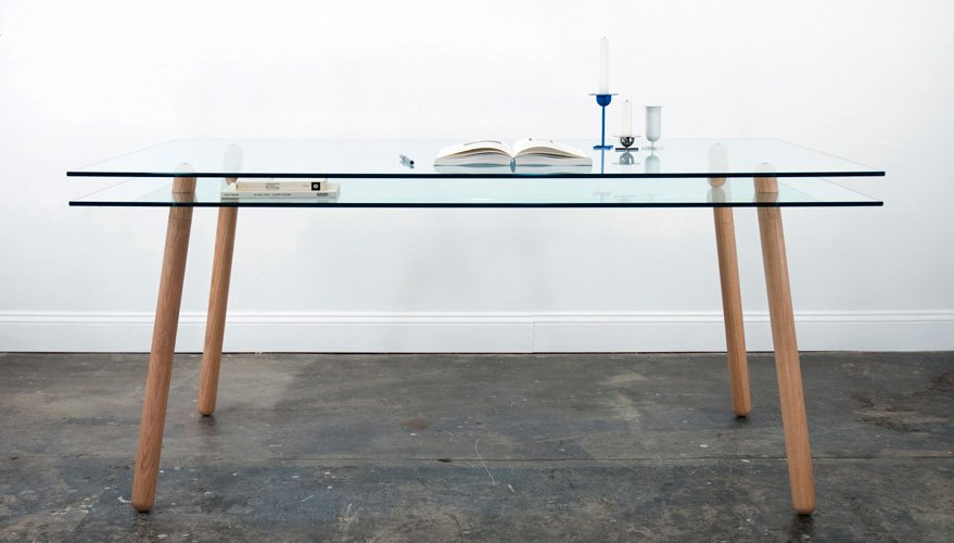 Mesa dyvel del estudio silva bradshaw decoraci n del hogar - Mesas de estudio de diseno ...