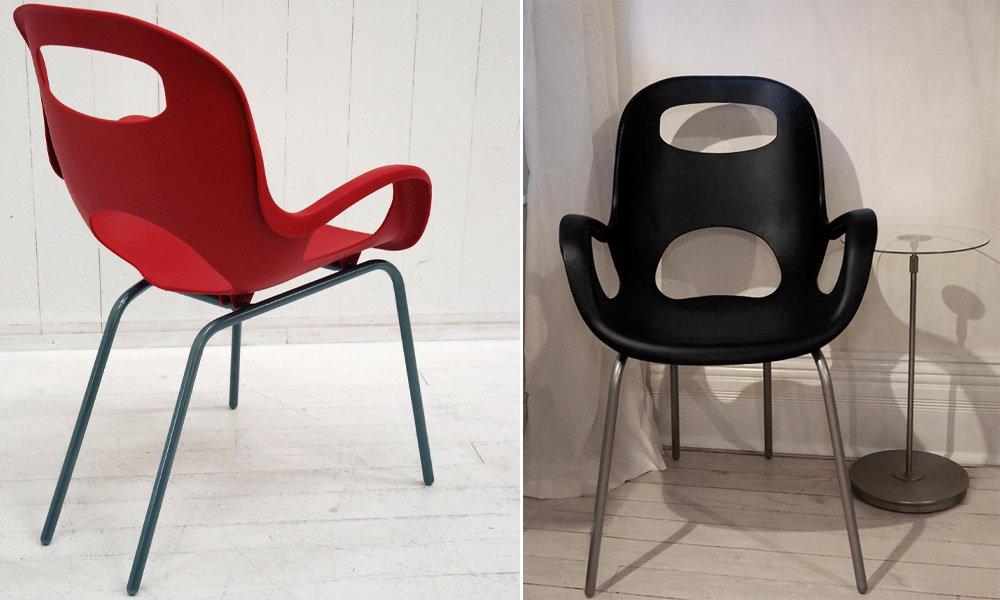 Imágenes De La Silla Oh! Chair De Karim Rashid