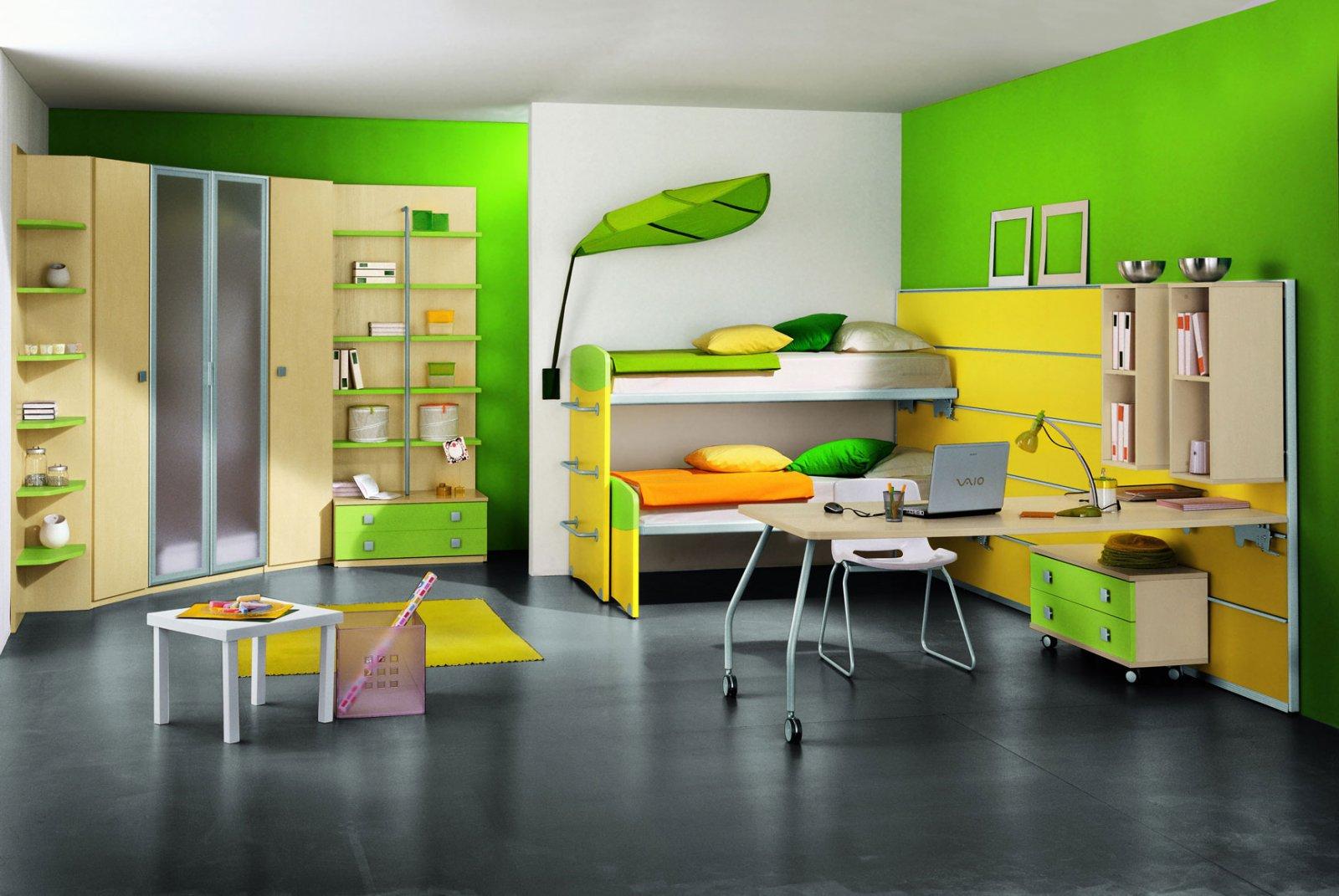 habitaciones colores:
