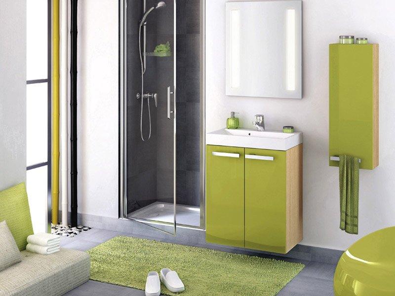 Baño Verde Con Blanco: de baño: decoración en verde Colección Delphy de la firma Delpha