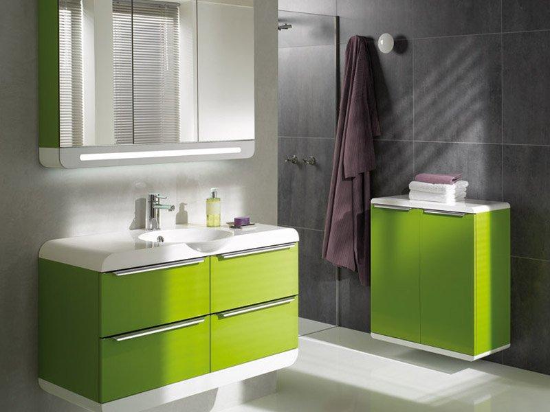 Inspiración cuartos de baño: decoración en verde (II). Decoración ...