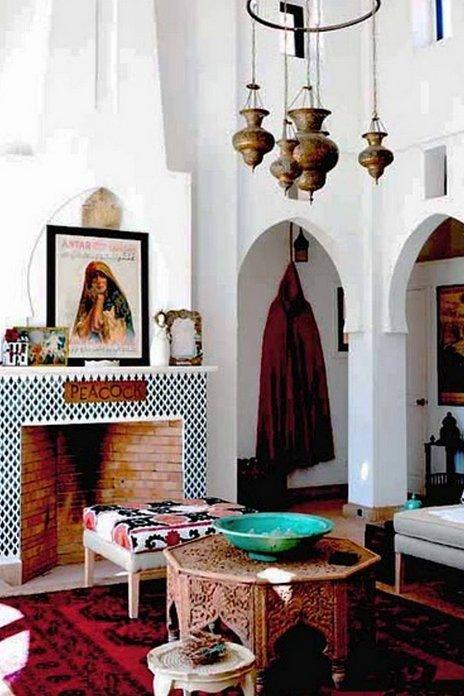 Decoracion arabe interiores decoracin marroqu - Decoracion arabe interiores ...