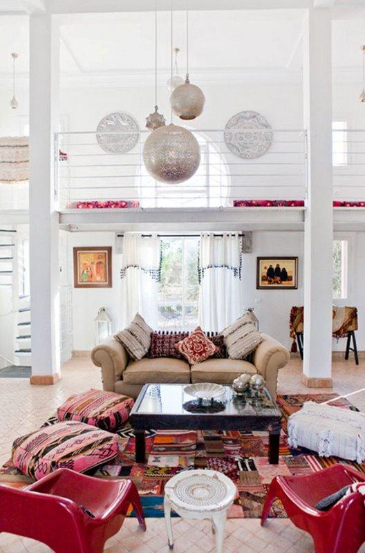 Inspiración para una decoración árabe. Decoración del hogar.