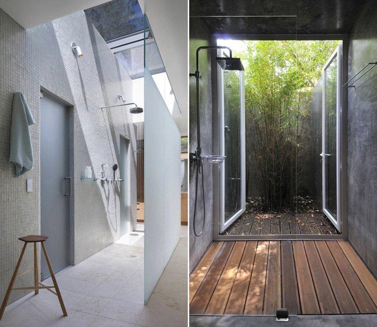 Inspiraci n para duchas estilo loft decoraci n del hogar for Loft modernos exterior
