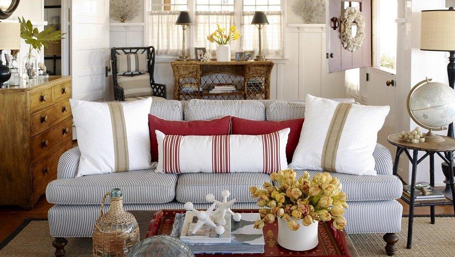 Como decorar un sal n estilo vintage decoraci n del hogar - Cottage style homes plans elegance resides in small spaces ...