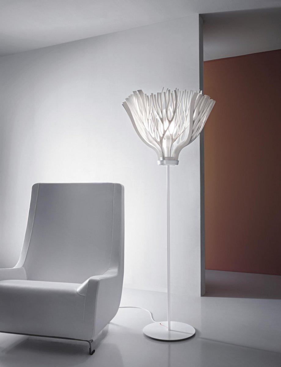 L mparas de pie modernas pallucco decoraci n del hogar - Lamparas para salon modernas ...