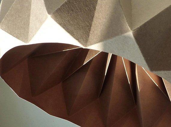 Origami Decoracion De Mesa ~ Galer?a de fotos de l?mparas Origami
