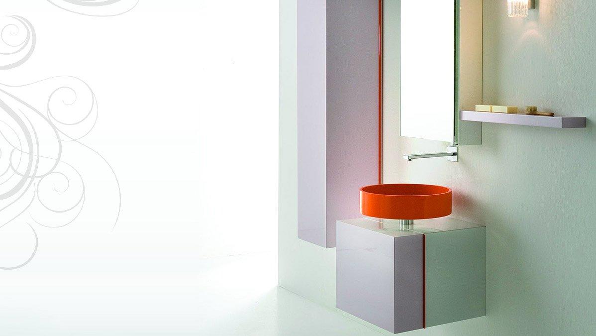 Lavabos para ba o de cristal - Lavabos de cristal de colores ...